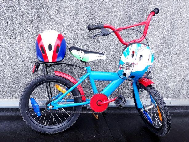 TANIO! BMX + KASK! 16 cali SUPER :) ŁADNY Rowerek Rower