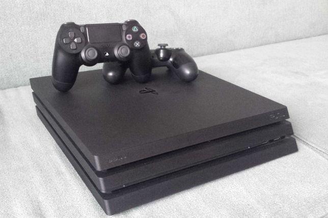 Playstation 4 Pro + 1 Pad + 3 Gry +HDMI 4K