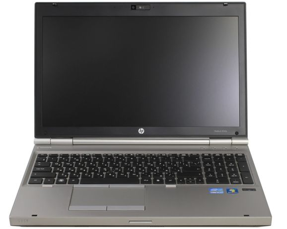 "HP EliteBook 8560p 15,6"" Intel Core i5-2540M/8GB RAM/256GB SSD/Win10"