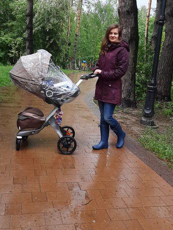 Stokke Explory Прогулка + автокресло+зимний и летний комплект
