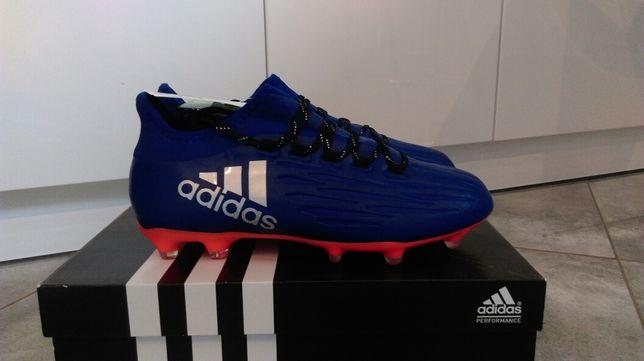 Nowe lanki Adidas X 16.2 FG r.40 2/3 (25.5 cm)
