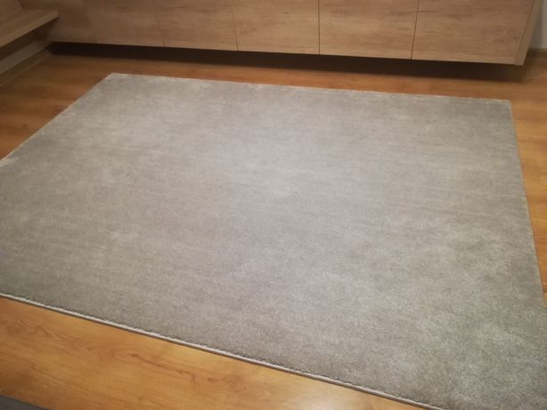Dywan jasny szary 160 x 230 cm