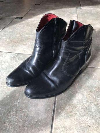 Buty KAZAR na obcasie skórzane 40rozm