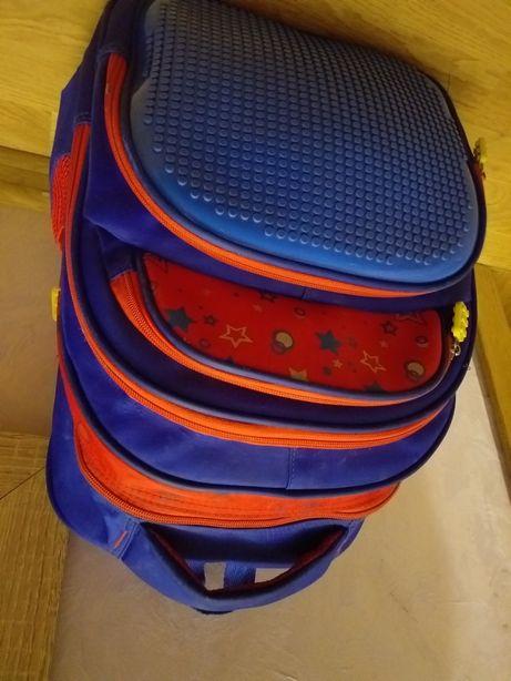 Шкільний рюкзак з lego
