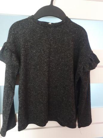 Zara sweterek z falbankami 122