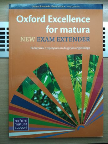 Oxford Excellence for matura. New Exam Extender (repetytorium)