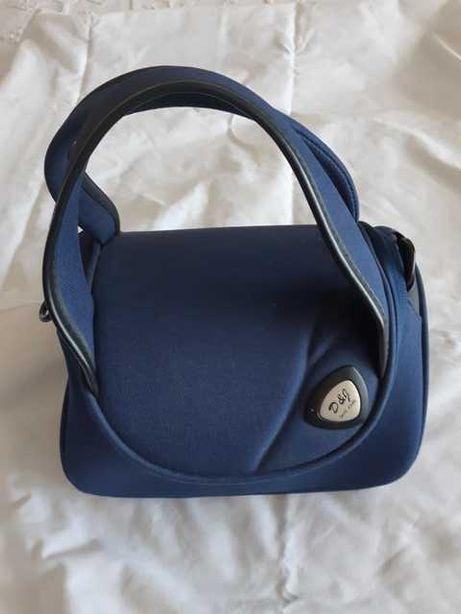 Malote fim-de-semana + elegante bolsa para cosméticos/documentos