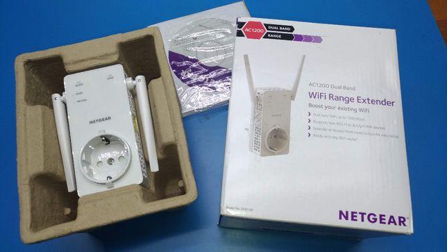 Repetidor Extensor WiFi Wireless Netgear Dualband 2.4 e 5GHz 1200mbps