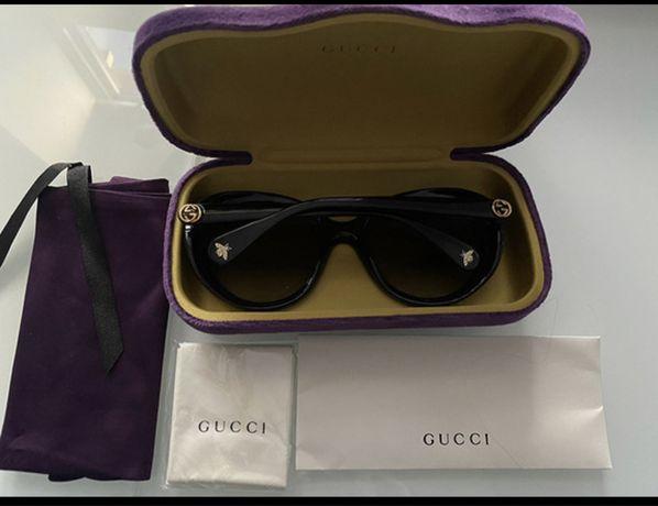 Okulary przeciwsloneczne GUCCI okragle oryginalne