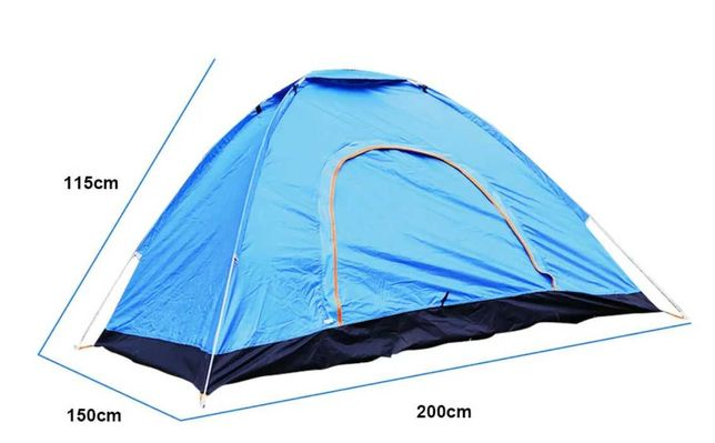 Пирамида палатка дорожная прочная кемпинговая  палатка автомат