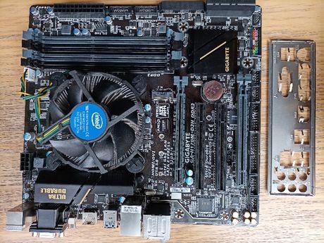 Gigabyte GA-H170M-D3H DDR3 + Core i5-6500(3.3GHz, s1151)Box