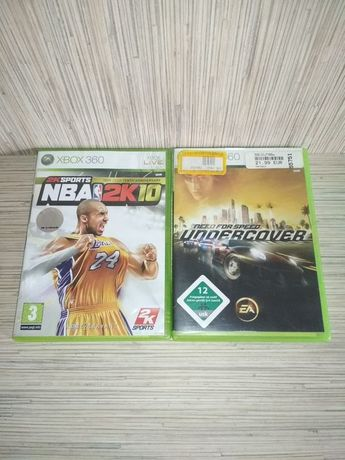 [Tomsi.pl] NBA 2K10 + Need For Speed Undercover X360 XBOX 360