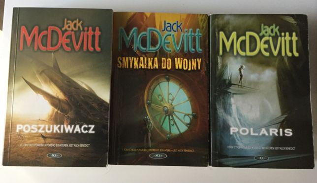 """Jack McDevitt - 3 Tomy (""""Polaris"""",""""Smykałka do Wojny"""",""""Poszukiwacz"""")"""
