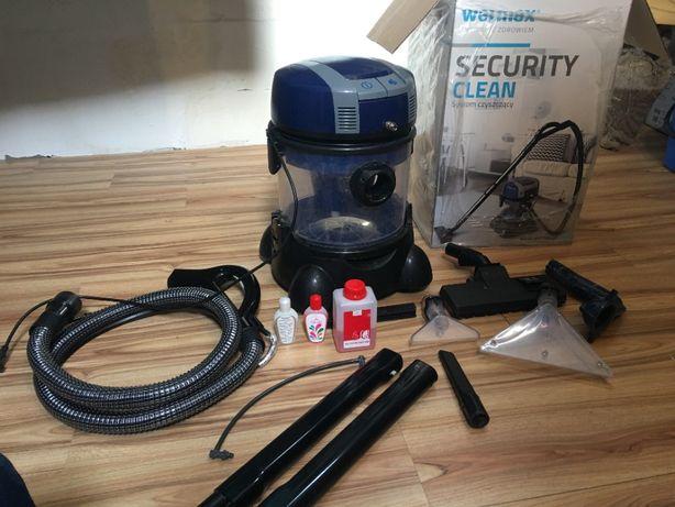 Odkurzacz piorący Welmax security clean - zestaw