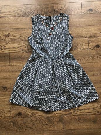 Sukienka groszki  M