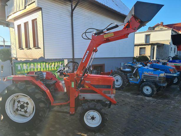 Mini Traktor,ciągnik,Yanmar,wspomaganie,rewers,ładowacz czołowy