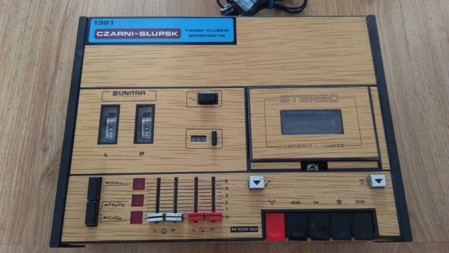 Magnetofon kasetowy M 532 SD