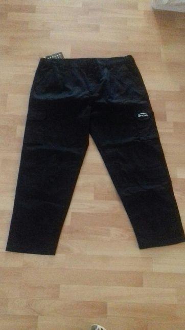Spodnie robocze duże XXL nowe 56 w pasie czarne