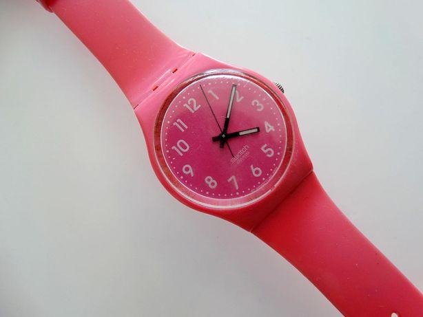 Swatch Zegarek Różowy