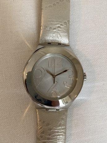 Relógio Swatch Irony prateado