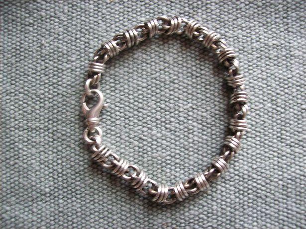 Srebrna śliczna bransoletka