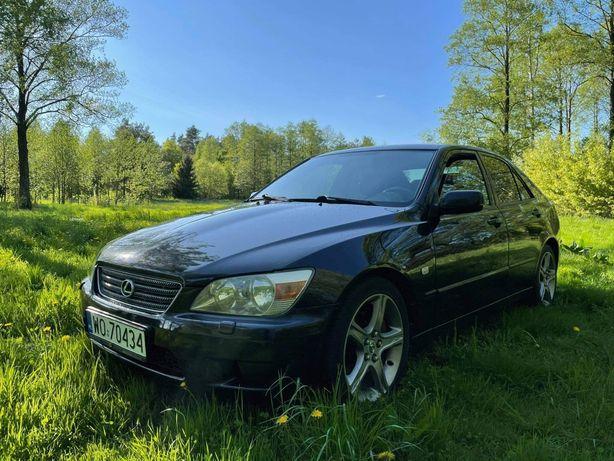 Lexus is200 benzyna/lpg