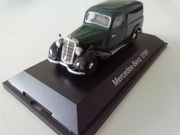 1/43 Mercedes 170 V Kastenwagen - 1937 (Miniatura - Schuco)