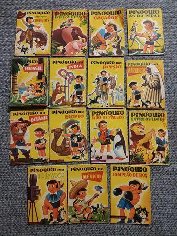 Colecção Manecas - Pinóquio (15 livros)