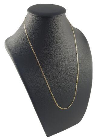 Piękny złoty łańcuszek pr. 585 gucci
