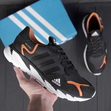 кожаные Мужские Кроссовки Adidas  кроссовки < кеды ,обувь