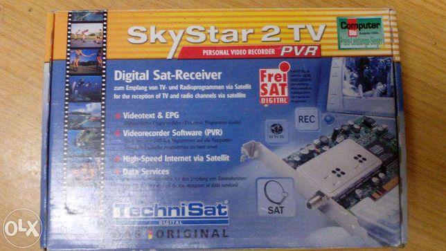 skystar 2 placa recepção satelite para computador