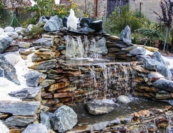 Kamień ozdobny, oczka, skalniaki