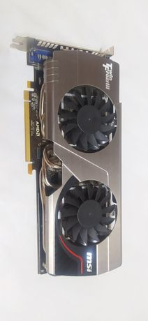 Видеокарта MSI Radeon HD 7950 Twin Frozr III, 1300 рублей