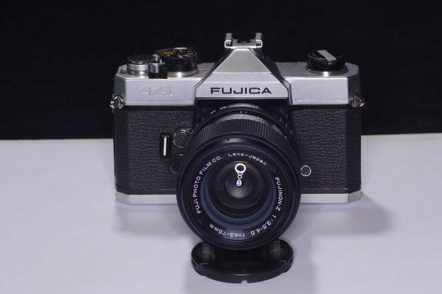 Пленочный фотоаппарат Фуджика Fujica AZ-1 с объективом Fujinon 43-75