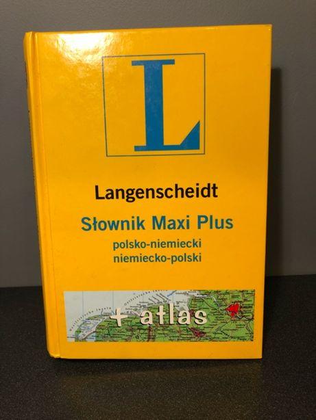 Słownik Langenscheidt polsko-niemiecki z atlasem