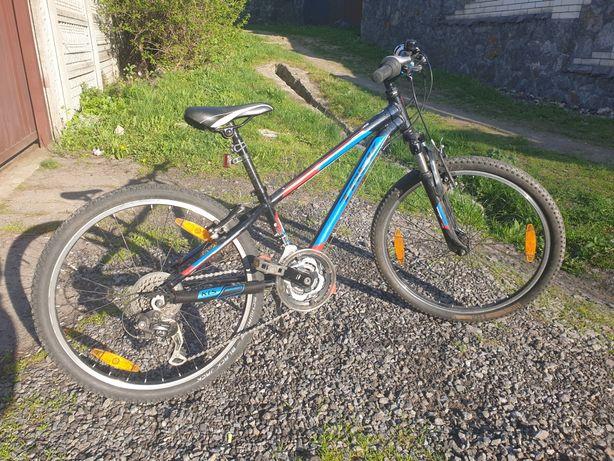 "Велосипед 24"" на рост 130-145 см TREK MT220 с документами"