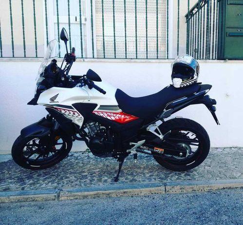 Honda CB500X com poucos km