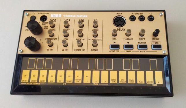 Sintetizador analógico Korg Volca Keys