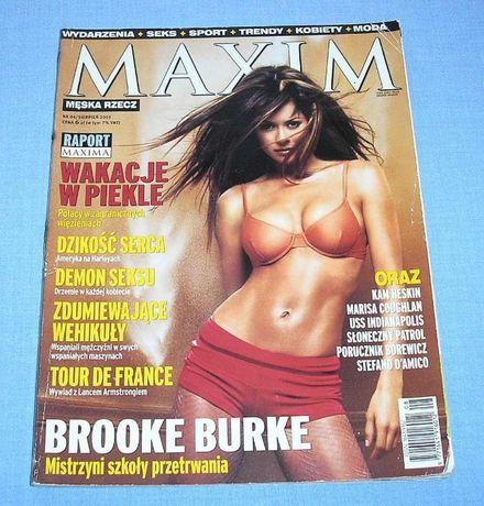 Brooke Burke Maxim 2001