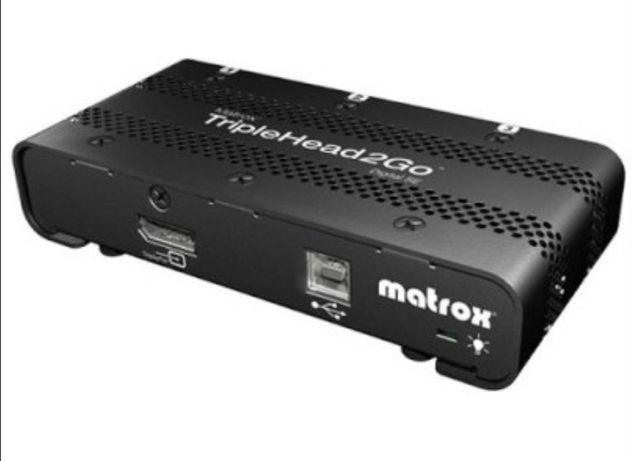 Мультимонитор видеоадаптер Matrox T2G-DP3D-IF TripleHead2Go Digital SE