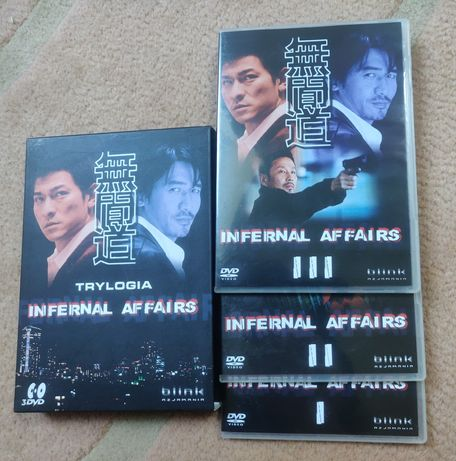 DVD- Trylogia Infernal affairs