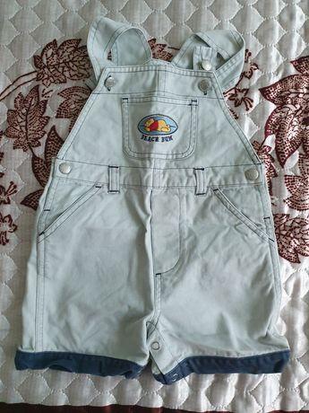 Комбинезоны джинсовые и шорты