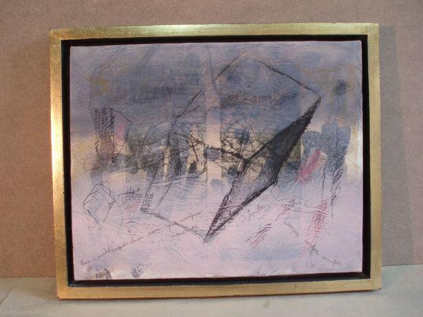 Quadro com pintura original de Paiva Raposo - 1998