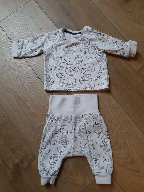 Komplecik niemowlęcy firmy hm