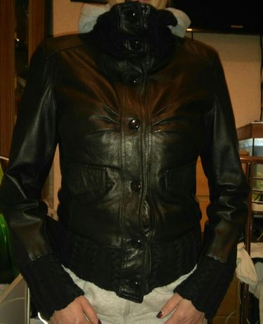 куртка кожаная,италия Снизила цену!