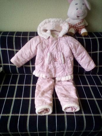Комбинезон, куртка для девочки зима