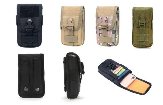 Тактический чехол для смартфона картхолдер Molle сумка тактическая