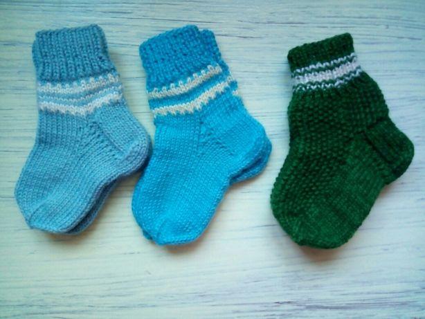 Носки, носочки детские вязаные