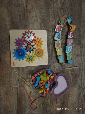 Развивающие деревянные игрушки от 2 лет