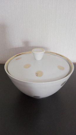 Bombonierka, cukiernica, ANTYK, porcelana niemiecka Weimar